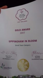 Uppingham in Bloom wins gold at East Midlands in Bloom awards